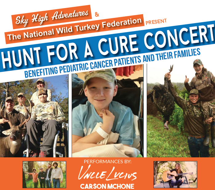 Hunt for a Cure Flyer