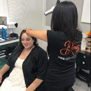 blow dry bar at salon one 12