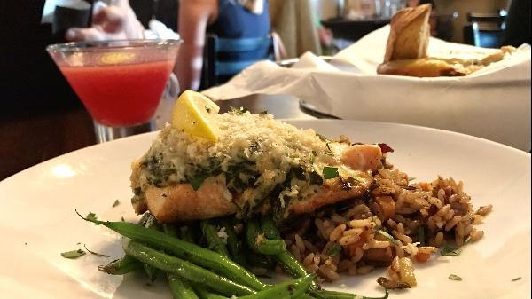 stuffed salmon from brooklyns