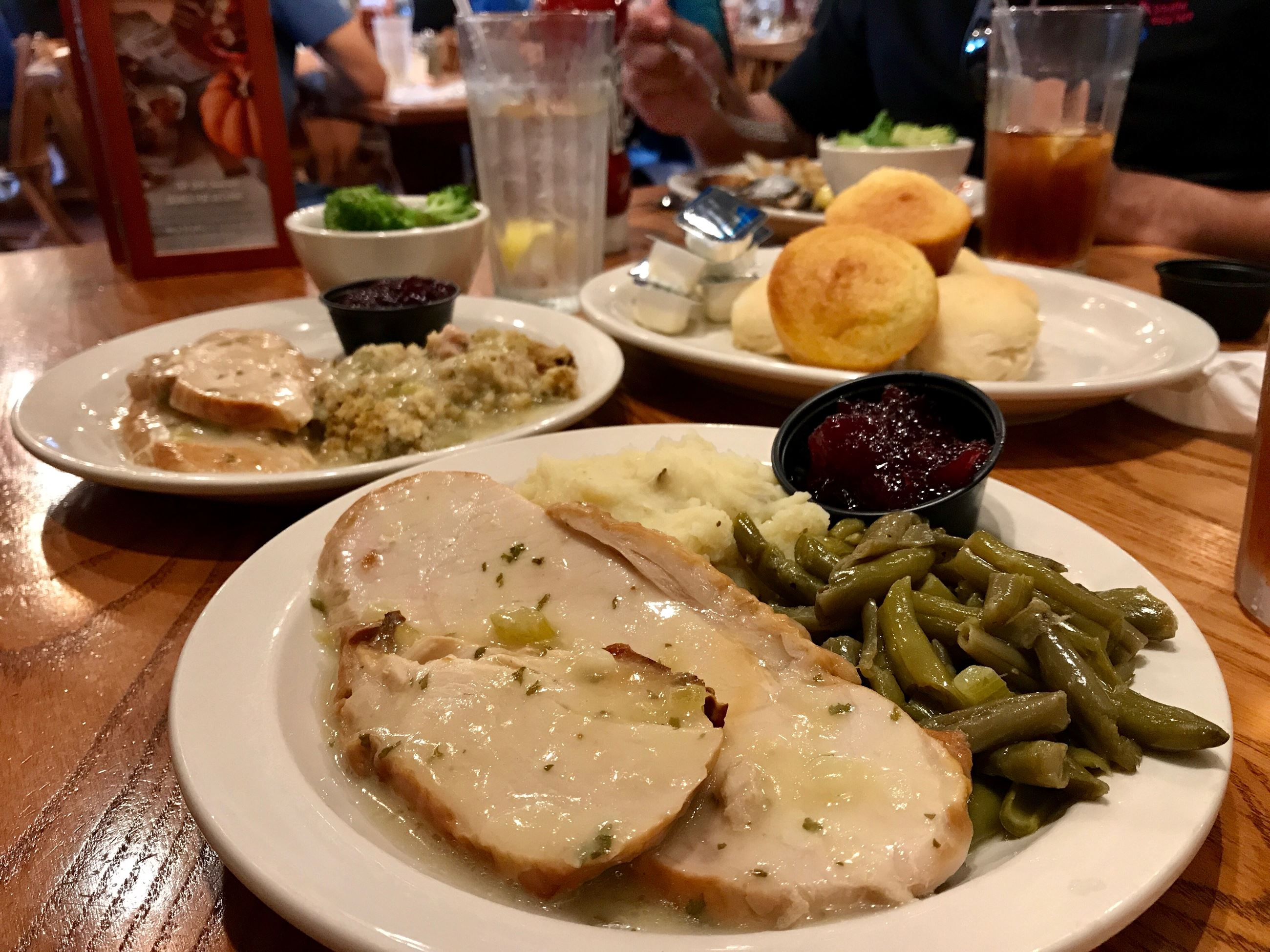 Turkey Thursday from Cracker Barrel