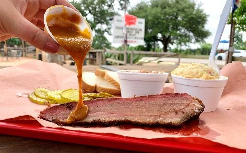 Willie's BBQ Brisket Plate