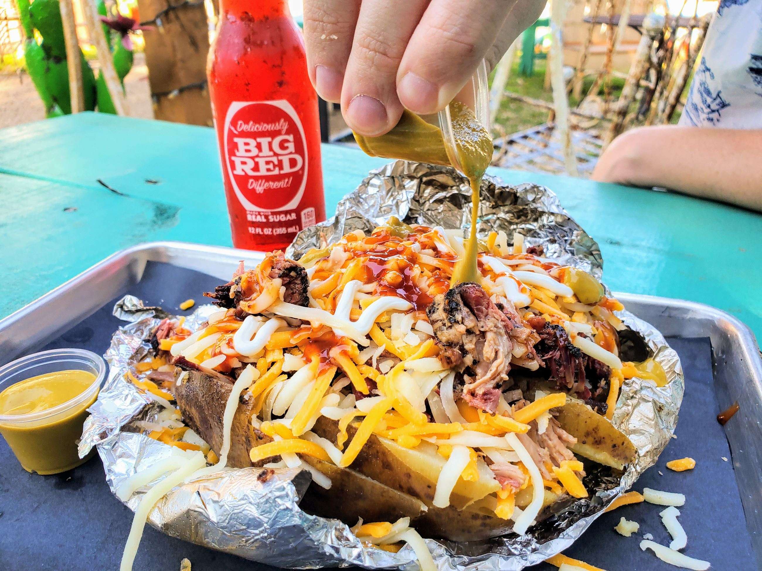 Brisket Baked Potato from Louie's