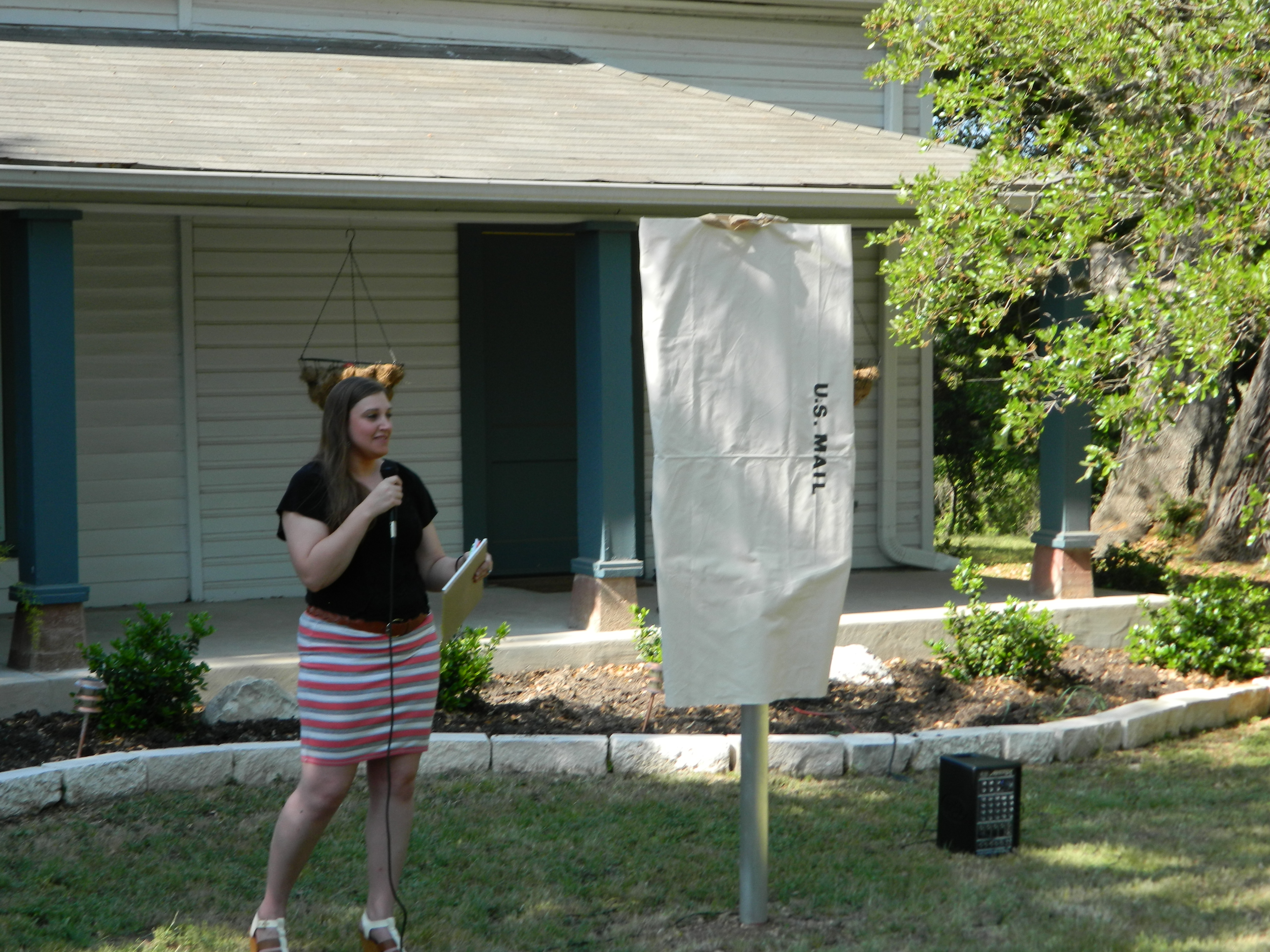 Stagecoach House Historical Marker Unveiling